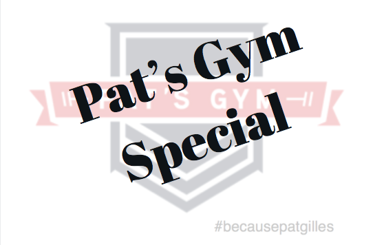 Pat's Gym specials to keep you in top shape during the